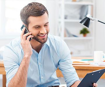 Технические консультации по телефону уже до выезда